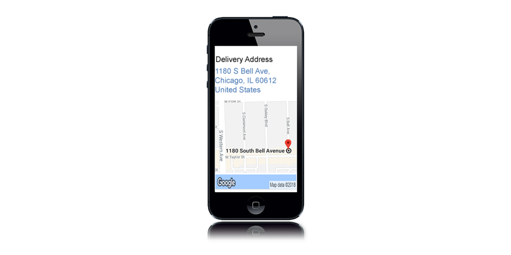 Delivery Mapping | TouchCR on