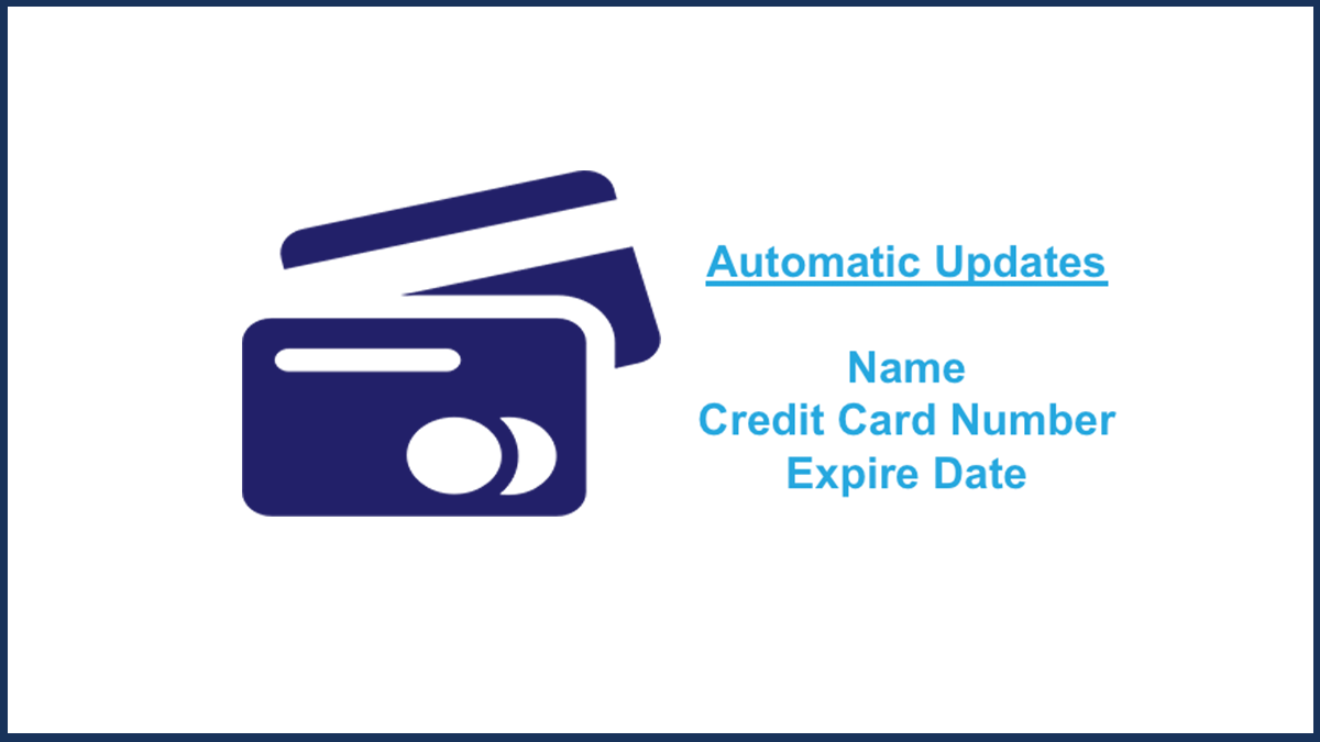 Automatic Credit Card Update Service
