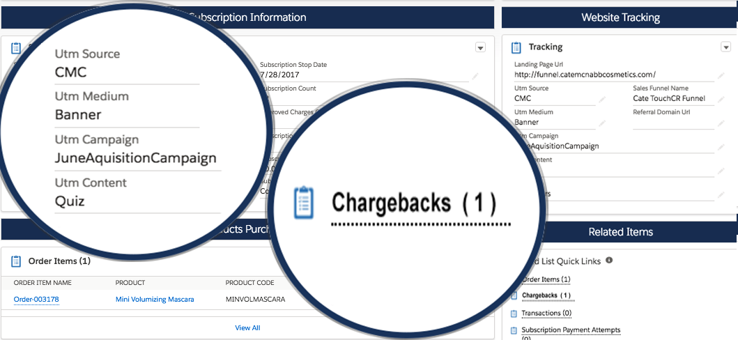Chargebacks Tracked to Traffic Source Real-time