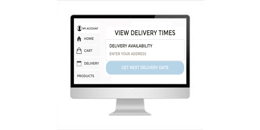 Delivery Date Selector for Customer