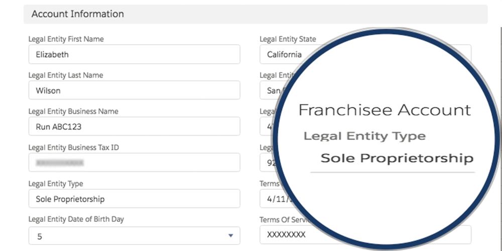 Franchisee Management