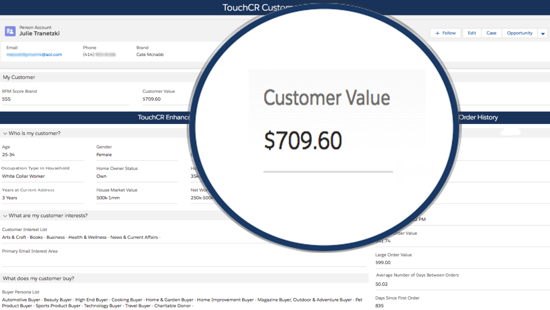 Track Customer Value Over Time